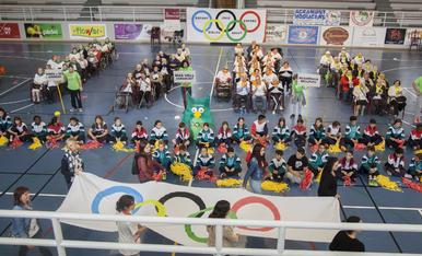 © 'Jocs Olímpics' per a la tercera edat a Agramunt