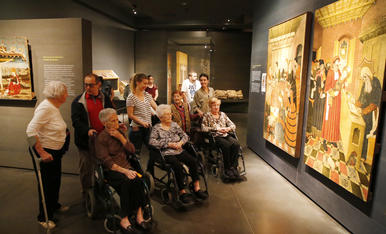 © Museus, l'art com a element de pau
