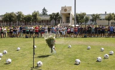 Imagen del acto en el INEFC de Lleida