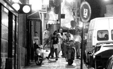 Imatges de locals d'oci nocturn de Lleida. Passat i present