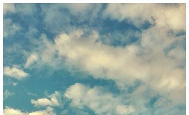 Indíbil i Mandoni, testimonis d'un bonic espectacle de núvols.