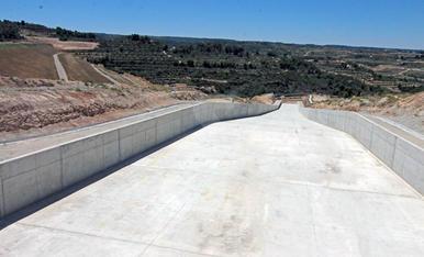Finalitzada la construcció de la presa de l'Albagés