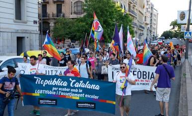 Manifestació LGTBI a Lleida 2017
