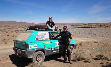 Les nostres vacances van ser al març d'enguany participant en la 9à edició de la Panda Raid Marroc. Una experiència inoblidable tot i que ara voldriem tenir unes altres vacances amb el nostre petit.