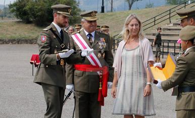 Felip VI presideix la 42 promoció de l'acadèmia de Talarn