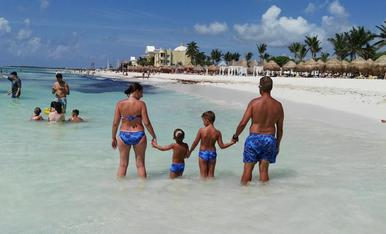 Vacances en família a la Riviera Maya.