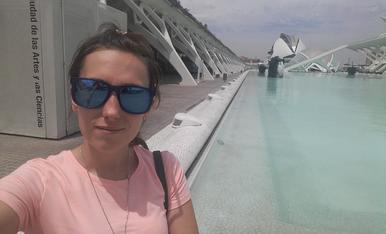 Les meves vacances al museu de les arts i les ciencied de Valencia han set genials i molt tranquiles!