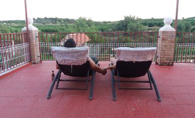 Disfrutat d'una tranquilitat ben merescuda a Pedralba (Valencia)