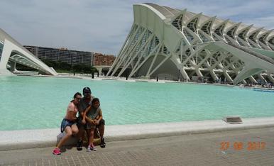 Aquestes vacances ens ho hem passat pipa, al museu de les arts i les ciencies de Valencia :)