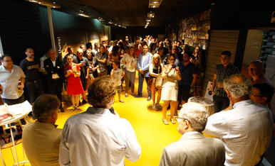 Inauguració de la nova sala VIP al Barris Nord