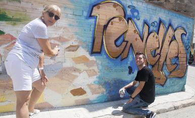 © Penelles treu partit del grafiti
