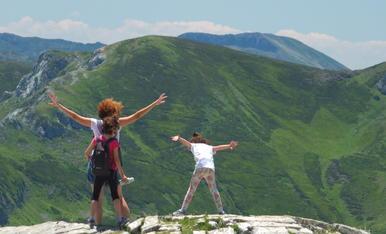 """Vistes impressionants des de """"los picos de Europa"""". Si poguessim volar!!"""