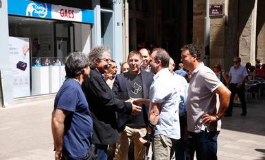 Arnaldo Otegi, a Lleida