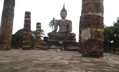 Alguns membres de la colla SOM DE PONENT hem viatjat a Tailàndia aquest estiu