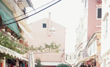 Carrers amb encant a Corfu, Grècia