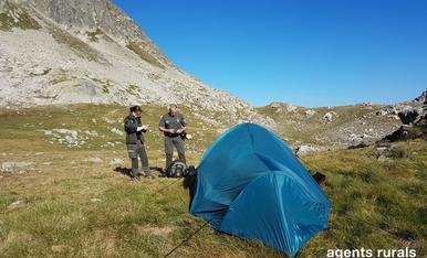 © Mesures més dures per a l'acampada il·legal