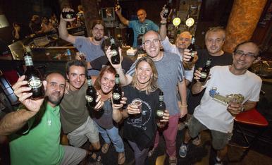 © Cervesa pròpia per als 40 anys d'Aquelarre