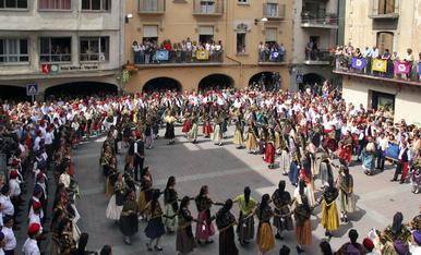 © Ball Cerdà a la festa major de la Seu d'Urgell