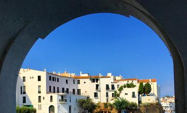 Platja de Port d'Alguer a Cadaqués.
