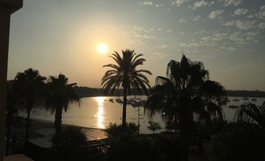 Vistes des de l'hotel a Mallorca