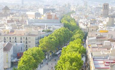 LA RAMBLAEl carrer més alegre del món
