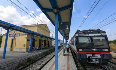 © Torna el tren de Lleida a les Borges