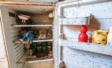 Pisos en estat ruïnós a la Mariola després de ser reokupats