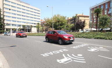 © Més senyals de radars a Lleida