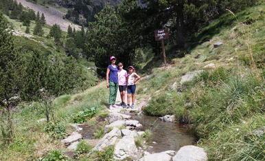 Tot caminant per les valls d'Andorra amb ganes de fer cim !!