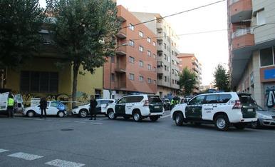 Imatges de l'operació antigihadista a Lleida