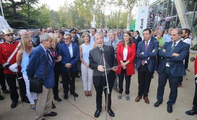 Inauguración de la Fira de Sant Miquel
