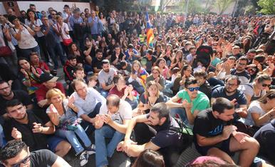 Solidaritat als centres de Lleida
