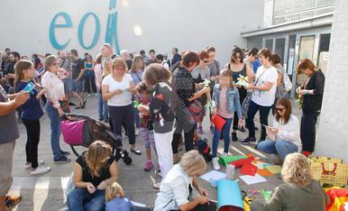 Solidaritat als centres de les càrregues