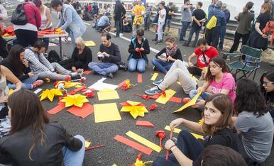 © Talls a les principals artèries de Lleida
