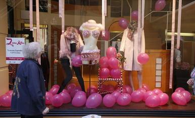 © La Zona Alta, rosa contra el càncer