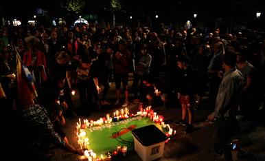 """© Les comarques de Lleida, contra els """"presos polítics"""""""