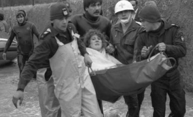 Imatges de la riuada de 1982