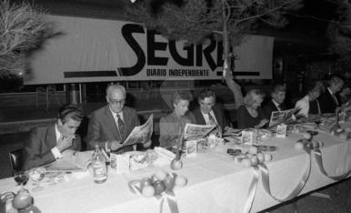 Presentació del diari SEGRE