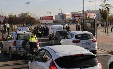 Talls de trànsit per la vaga del 8 de novembre