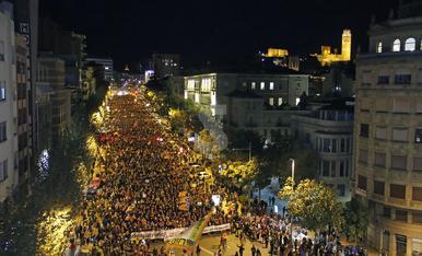 © Lleida torna tossudament als carrers