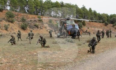 © Soldats de maniobres a Talarn