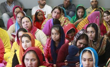 © Reunió de sikhs catalans a Lleida