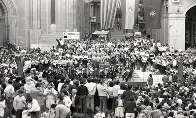 1986: Més de 5.000 lleidatans inauguren la nova plaça Sant Joan