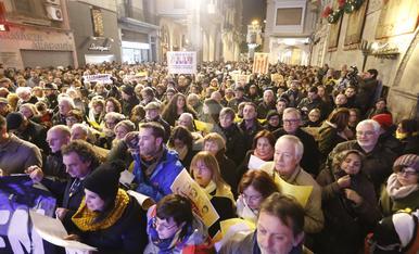"""© Lleida torna al carrer pels """"presos polítics"""""""