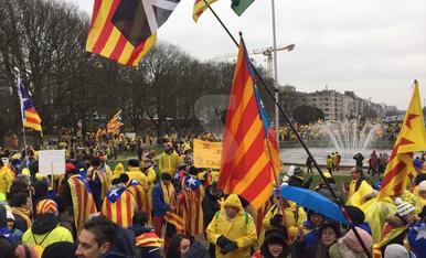 Manifestació a Brussel·les