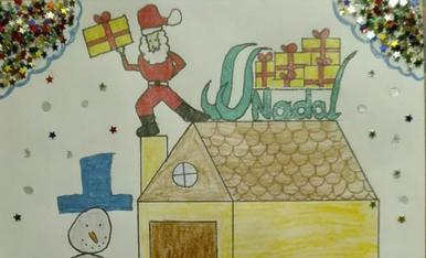 Arriba el Pare Noel a casa!! (Iván 6 anys)