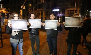 Imatges del trasllat de les obres de Sixena del Museu de Lleida