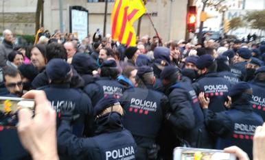 Trasllat de les obres de Sixena del Museu de Lleida