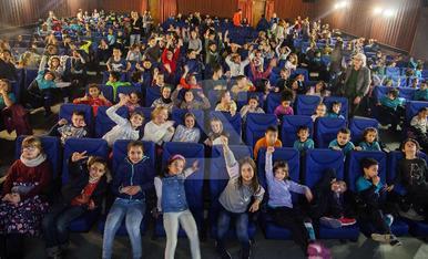 © Nens de Tàrrega s'ho passen de cine