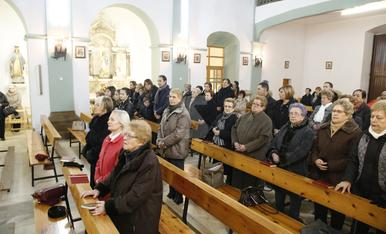 © La Granja recupera l'església al cap de nou mesos tancada